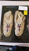 Navajo beaded moccasins