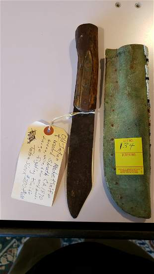 Old Indian-made knife