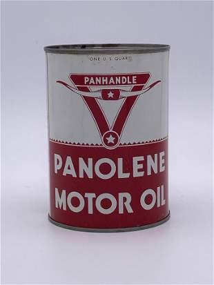 Panhandle Panolene Motor Oil 1 Quart Can TAC 8.75