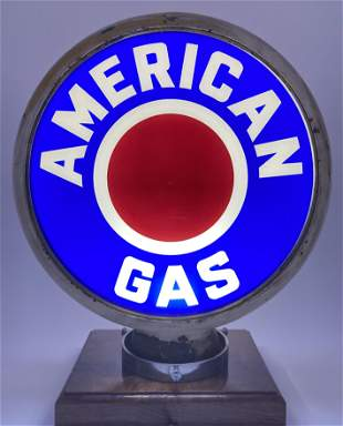 "American Gas Complete Globe Body 15"" Lenses"