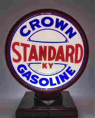 Standard KY Crown Gasoline Complete Globe Body Lenses