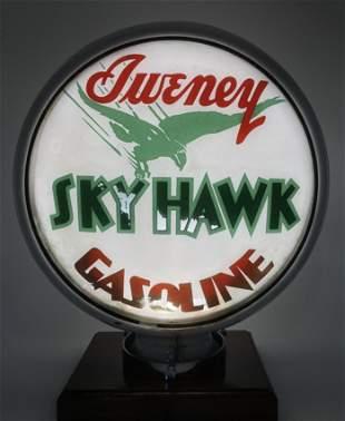 "Sweney Sky Hawk Gasoline Globe Body 15"" Lens"