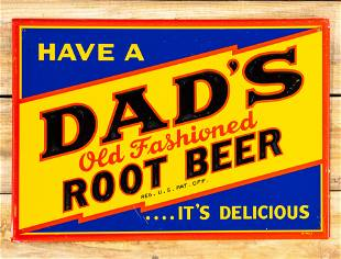 Have Dad's Old Fashioned Root Beer SST Metal Sign 8.75