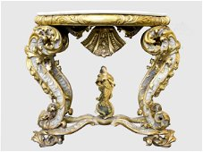 Magnificent Console Table, 18th c.