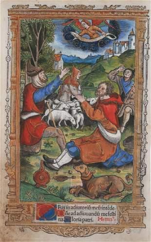 Book Illustration, France / Paris, ca. 1500
