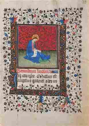 Book Illustration, France / Paris, ca. 1410/20