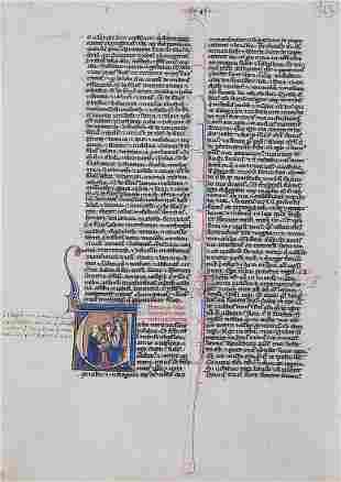 Book Illustration, France / Paris, ca. 1250