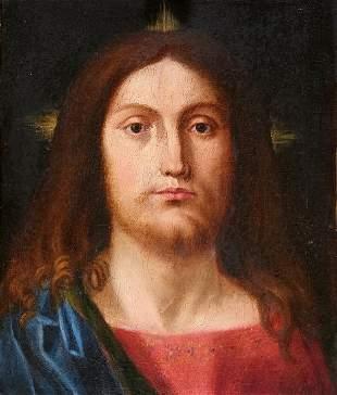 Salvator Mundi, Painting, Italy, 16th / 17th c.