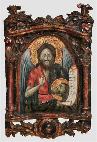 Icon, Greece / Crete, 17th / 18th century?