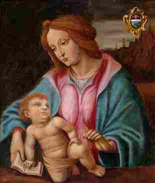 Madonna, Painting, 17th century