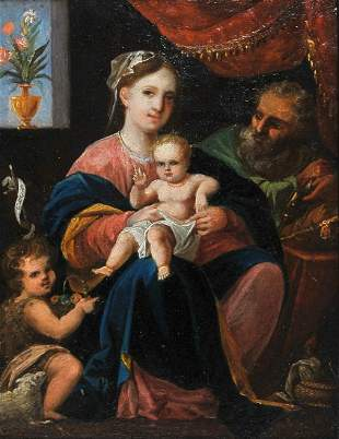 Holy Family, Painting, 17th / 18th century