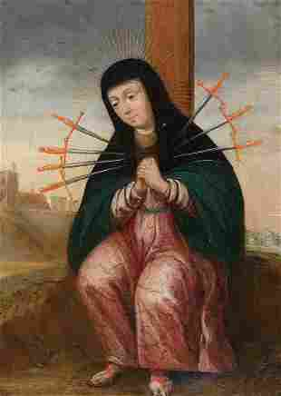 Mater Dolorosa, Painting, Spain, ca. 1700