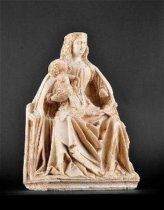 Gil De Siloe (and workshop), Sitting Madonna
