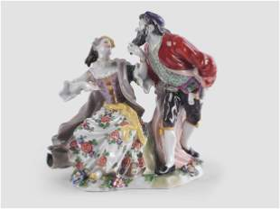 Porcelain, Group of Figures, 19th century