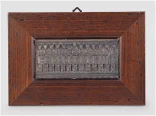 Miniature Icon, Bronze, ca. 1930/50