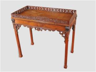 Chippendale Console Table, England, 18th century