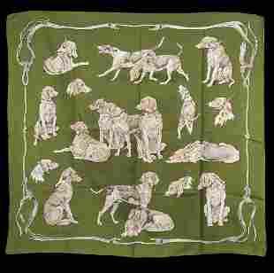 Original Hermes Cloth, Silk