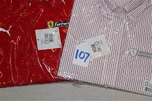 New Ferrari Dress Shirts