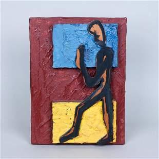 Pinkas Cohen Gan (b. 1942) Figure in Relief