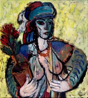 Reuven Rubin (1893 - 1974) Femme Orientale