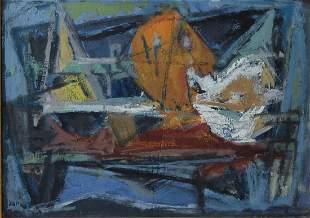 Marcel Janco (1895-1984) Abstract still life