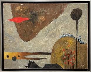Yohanan Simon (1905 - 1976) Landscape