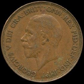 1936 British Geo V 1p AU