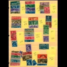 Italy 1930s 1940s Stamp Collection of Early