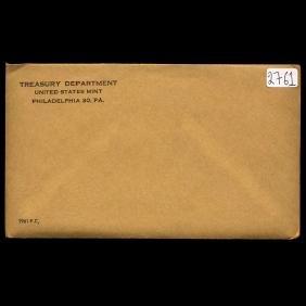 1961 Scarce Unopened Envelope Proof Set