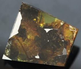 13.15ct Esquel Meteor Pallasite Olivine Space Peridot