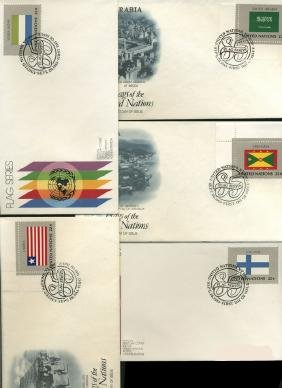 1984 UN FIRST DAY COVER COLLECTION