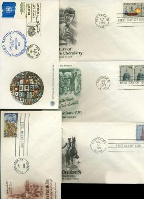 1974 US & UN FIRST DAY COVER COLLECTION
