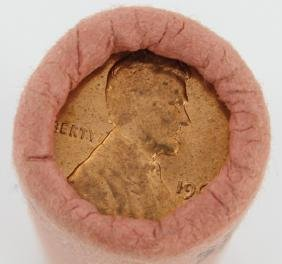1961D Lincoln Cent Scarce Never Opened BU Roll