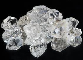 101.4ct Crystal Parcel NY Herkimer Diamond Hi Grade