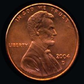 2004D Lincoln 1c GEM+++ UNC+ RED Hi Book Value