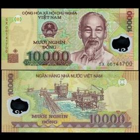 2003 Vietnam 10000 Dong GEM Crisp Unc Note