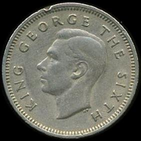 1950 New Zealand 6p VF/XF Details