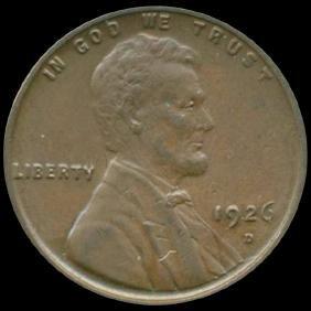 1926D Lincoln Cent CHOICE+ Unc