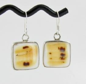 Sterling Shell Earrings