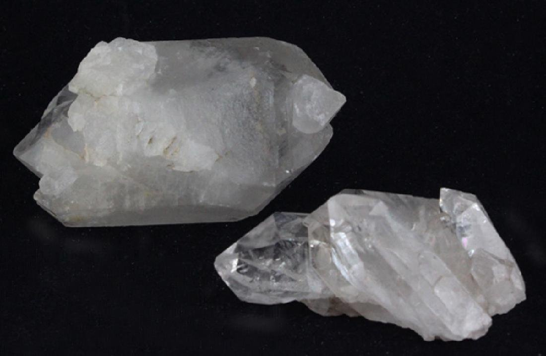 White Quartz Crystal Parcel