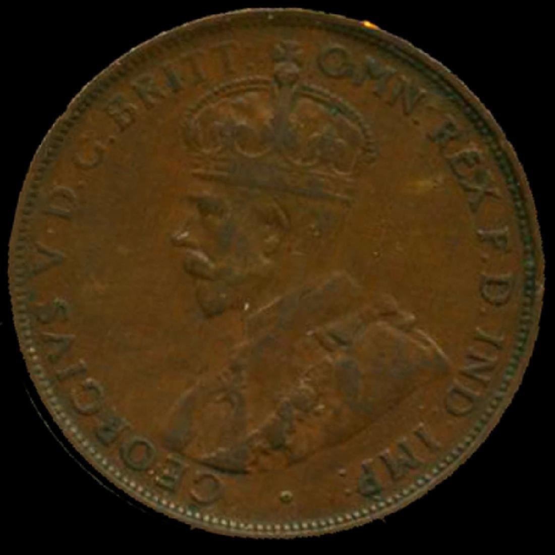1928M Australia Large Penny Hi Grade XF High Book Value