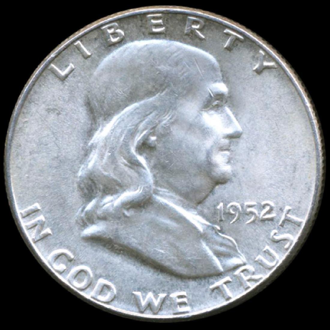 1952 Franklin 50c GEM Unc FBL