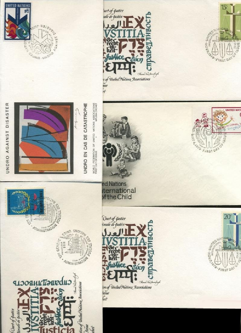 1978 US & UN FIRST DAY COVER COLLECTION