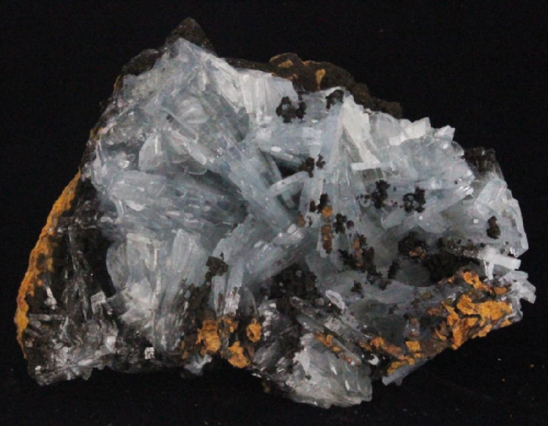 477g Blue Barite Crystal Cluster