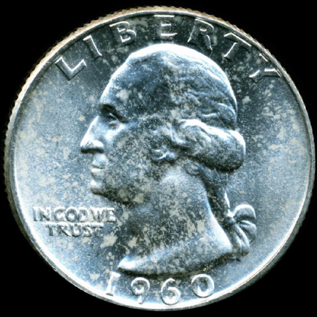 1960 Washington 25c GEM Unc