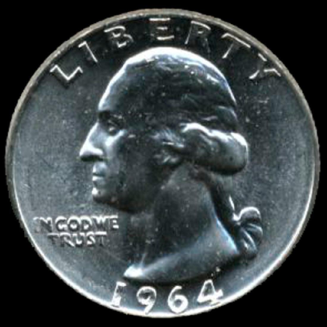 1964 Silver GW 25c Super Gem GEM++ UNC