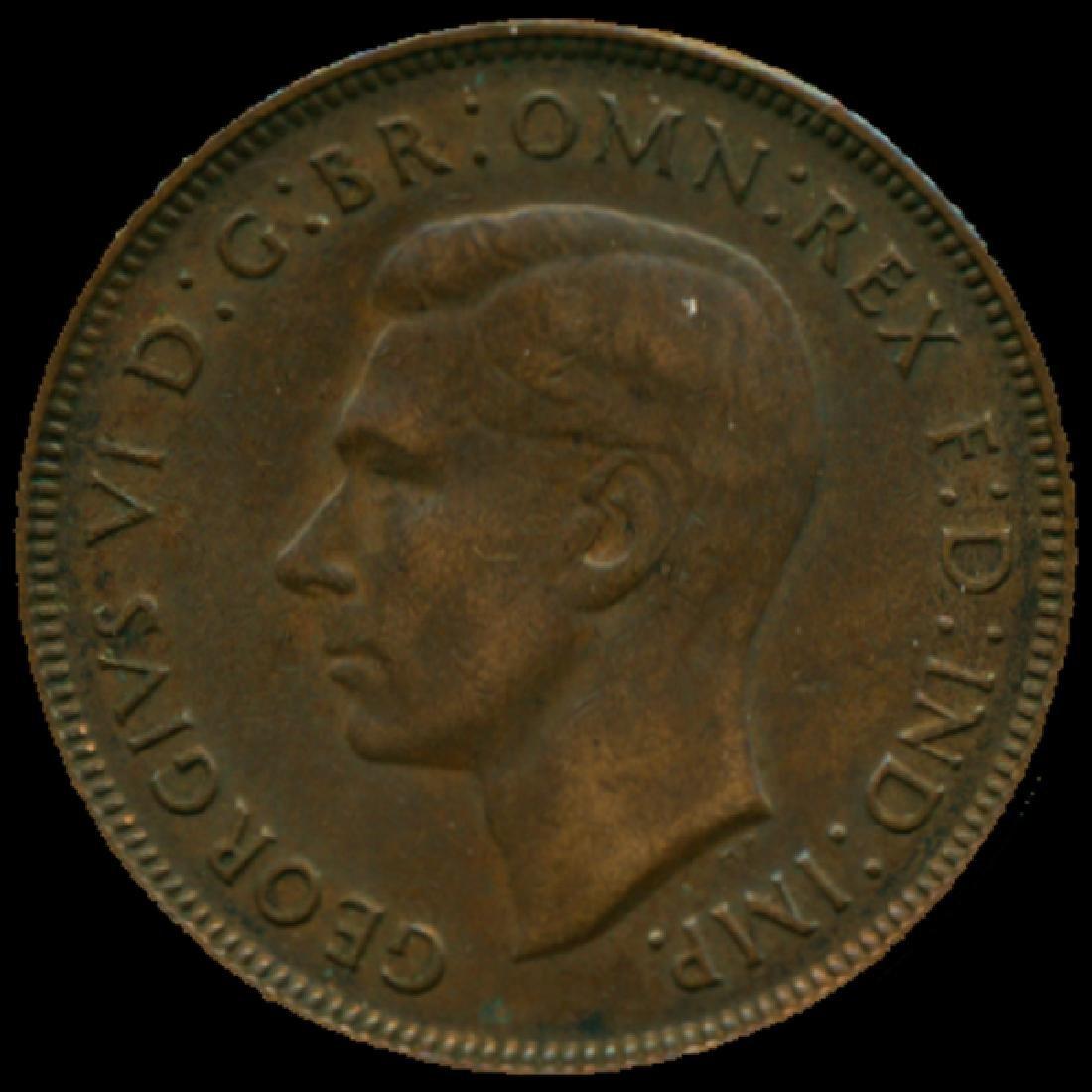 1948M Australia Large Penny Hi Grade AU BV