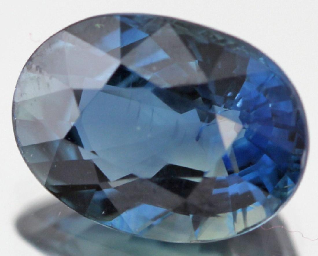 2.8ct Fabuluous Blue Sapphire Clean
