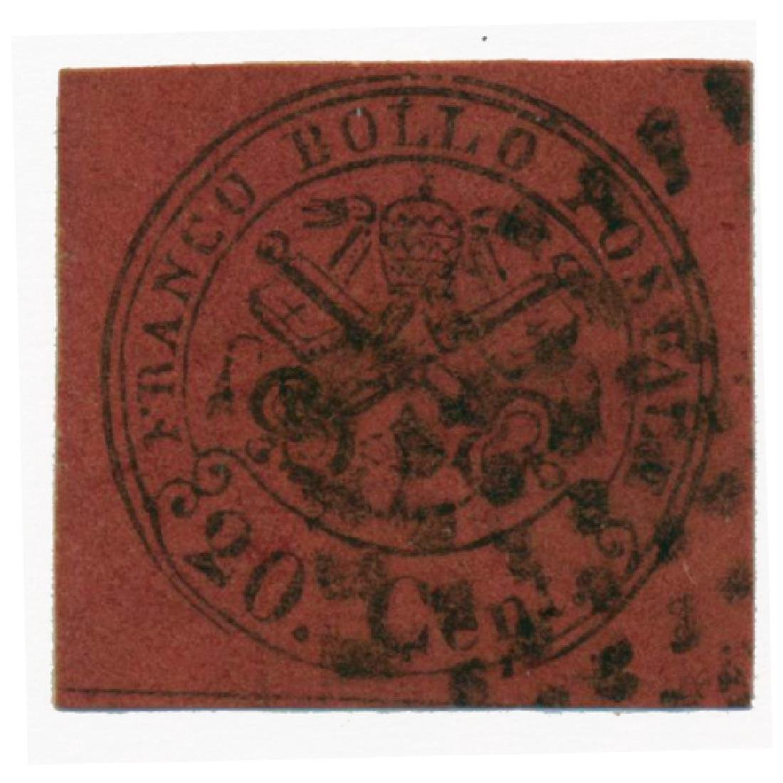 1867 Italy Papal States 20c Used
