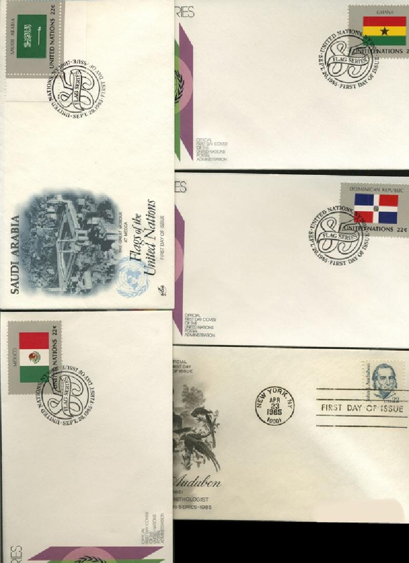1984 US & UN FIRST DAY COVER COLLECTION